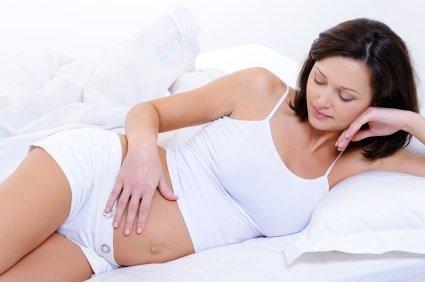 Les pertes blanches de la grossesse.